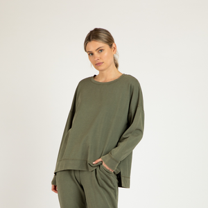 BETTY BASICS SIENNA SWEAT- FERN
