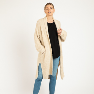 MIA CARDIGAN - NATURAL