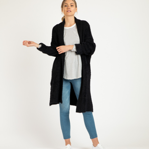 MIA CARDIGAN - BLACK