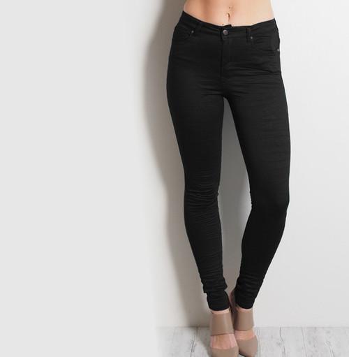 HIGH WAIST BLACK GELATO LEGS FRONT