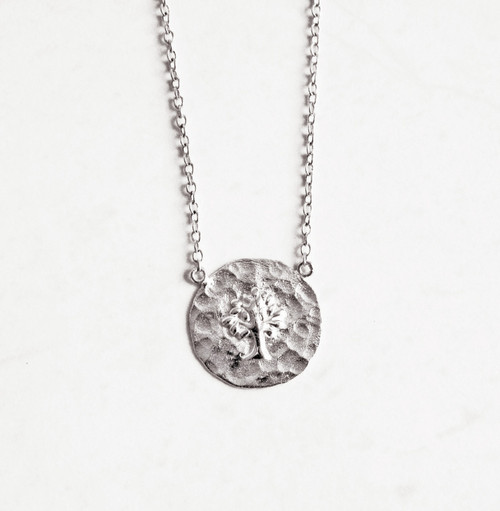 TREE OF LIFE NECKLACE - SILVER