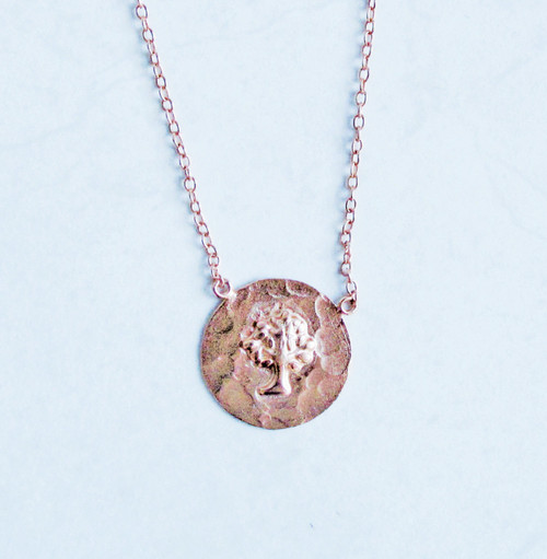 TREE OF LIFE NECKLACE - ROSE GOLD