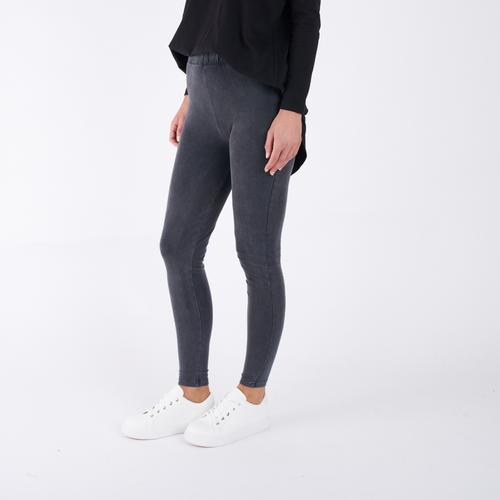 TANYA LEGGINGS - BLACK STONE