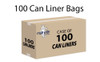 """Trash Can Liners – 40""""x 46"""" -100 per case"""