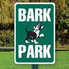 "Bark Park Aluminum Sign - 12"" x 18"""
