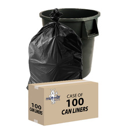 """Trash Can Liners – 40""""x 46"""" -case of 100"""