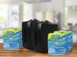 EPA SPECIAL: 4 Rolls of EPA Disinfecting Wipes + 2 FREE Dispensers