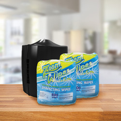 EPA SPECIAL: 2 Rolls of EPA Disinfecting Wipes + 1 FREE Dispenser