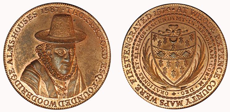 Robert Loder, Copper Penny, 1796 ( D&H Suffolk 15)