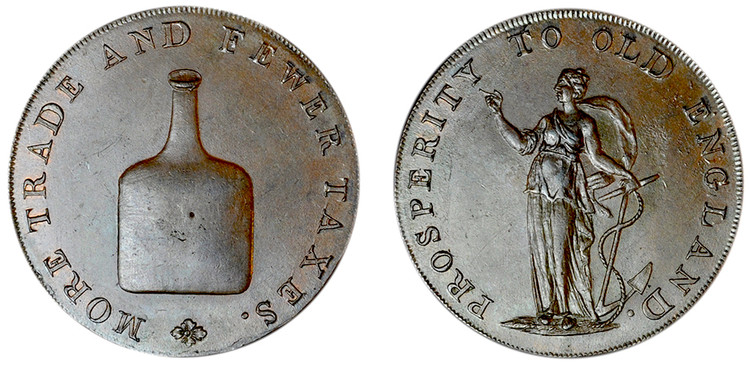 Dinmore & Son, Copper Halfpenny (D&H Norfolk 24)