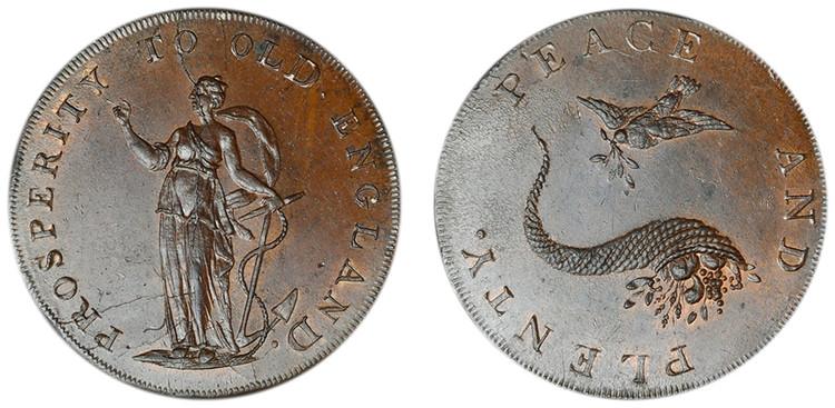 Peter Kempson, Copper Halfpenny Mule (D&H Norfolk 26e)
