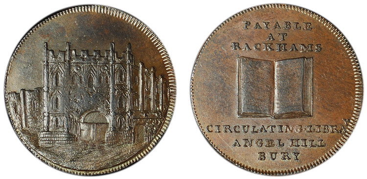 Rackham and Leatherdale, Copper Halfpenny (D&H Suffolk 29)