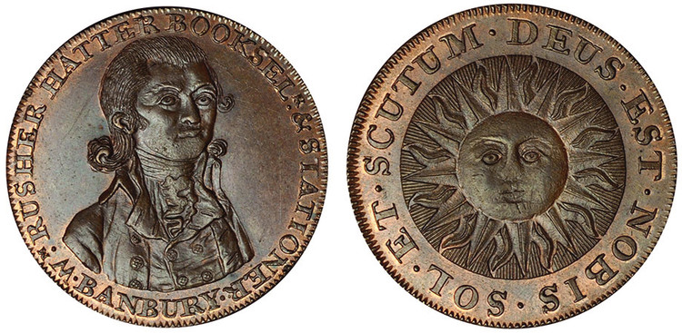 William Rusher, Copper Halfpenny (D&H Oxfordshire 1)