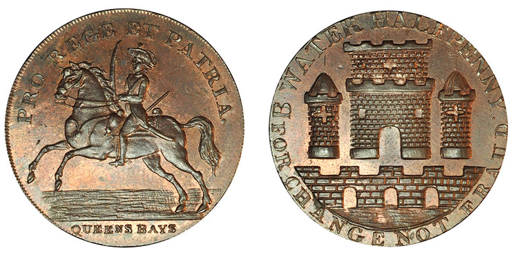 Peter Kempson, Copper Halfpenny Mule  (D&H Somersetshire 87)