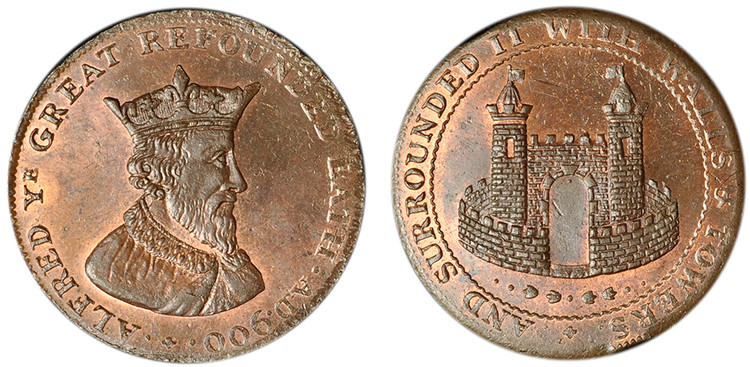 Payne & Turner, Copper Halfpenny  (D&H Somersetshire 65b)