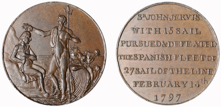 Thomas Sharp, Commercial Halfpenny, 1797 (D&H Hampshire 64)