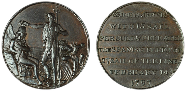Thomas Sharp, Commercial Halfpenny, 1797 (D&H Hampshire 61)
