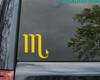 SCORPIO Vinyl Decal -Astrology Zodiac Sign Water The Scorpion - Die Cut Sticker