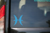 Pisces Vinyl Decal - Astrology Zodiac Sign Water The Fish - Die Cut Sticker