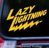 LAZY LIGHTNING Vinyl Sticker - Grateful Dead Bob Weir Jerry Garcia - Die Cut Decal