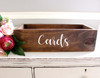 CARDS -V1- Vinyl Sticker - Wedding Gifts Box Label - Die Cut Decal