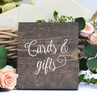 """CARDS & GIFTS 8"""" x 6.5"""" Vinyl Decal Sticker - Wedding Label Sign"""