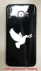 DOVE with Olive Branch Vinyl Decal Sticker -V3- Bird Peace Love Mother Mary Christian Ishtar