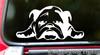 BULLDOG Vinyl Sticker -V4- English Bully Dog Puppy American - Die Cut Decal