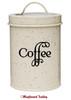 COFFEE Vinyl Sticker - Kitchen Organization Label - Die Cut Decal - Swash