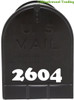"""2 Sets of 2"""" Custom Mailbox Numbers - Vinyl Die Cut Decals - 19 Style Choices"""