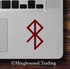 Peace Bindrune Vinyl Sticker - Viking Symbol Bind Rune - Die Cut Decal