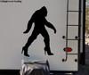 Bigfoot in Heels Vinyl Sticker - Sasquatch Yeti Believe 4x4 Off Road - Die Cut Decal