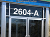 White Store Window Vinyl Address Numbers - Storefront Glass Door Business Frontage - Die Cut Decal