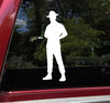 Drill Instructor Sergeant Vinyl Decal - Boot Camp Male Turned - Die Cut Sticker