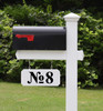 Transom Window or Mailbox Numbers Vinyl Decal - Numero - Address Office Storefront - Die Cut - TNRB
