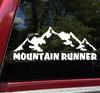 Mountain Runner Vinyl Decal - Ultra Fell Running Hill - Die Cut Sticker
