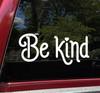 Be Kind Vinyl Decal V2 - Peace Love Hope Understanding Compassion - Die Cut Sticker Be Kind Vinyl Decal V2 - Peace Love Hope Understanding Compassion - Die Cut Sticker