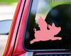 Flying Pig Vinyl Decal Wings Hog Piglet When Pigs Fly - Die Cut Sticker