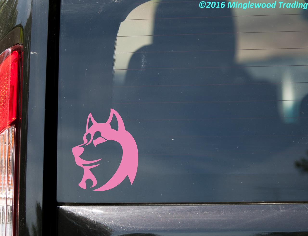Siberian Dog Husky Sticker Die Cut Vinyl