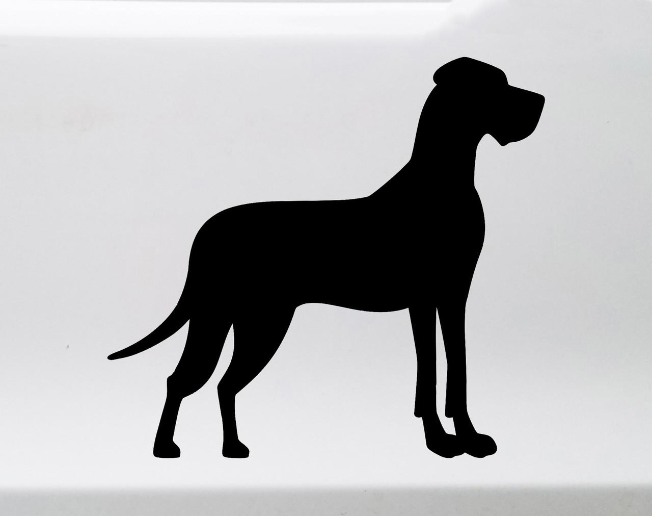 Great Dane Dog Animal Vinyl Die Cut Car Decal Sticker