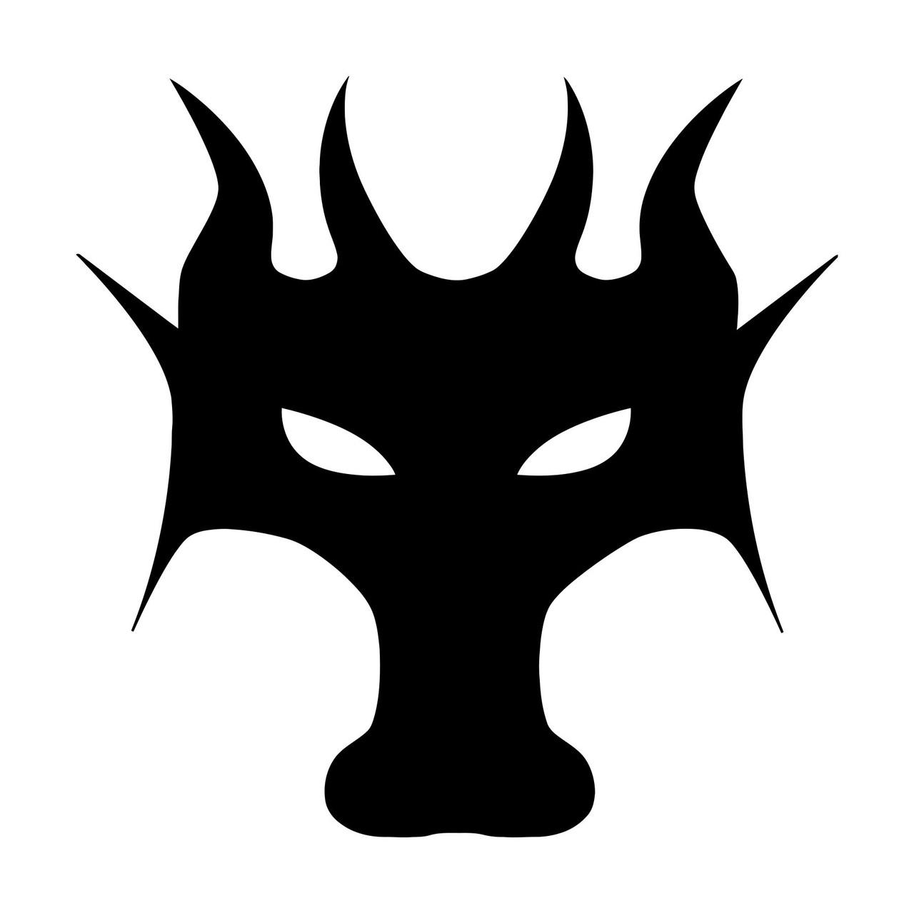 DRAGON HEAD Vinyl Decal Sticker -V1- Wyvern Fantasy Mythology