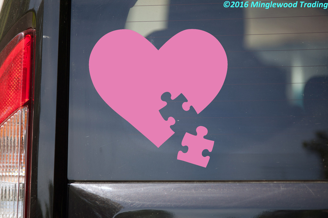 Think Differently Decal Autism Awareness Vinyl Decal