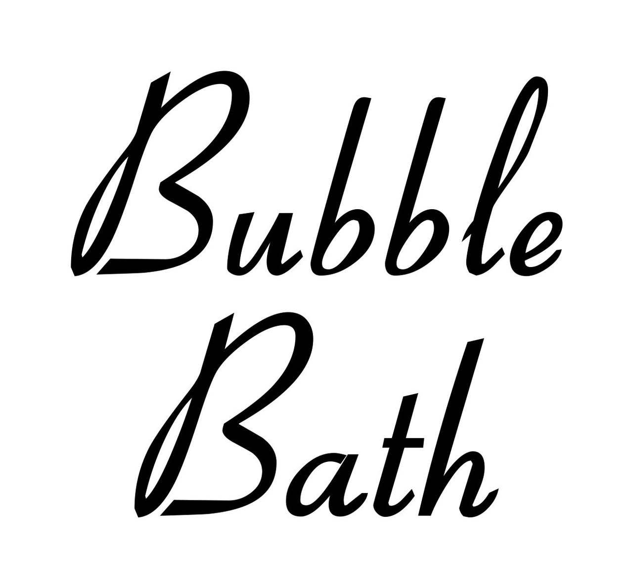 Bathroom Organization Labels Vinyl Stickers - Home Restroom - Die Cut Decals - Retro