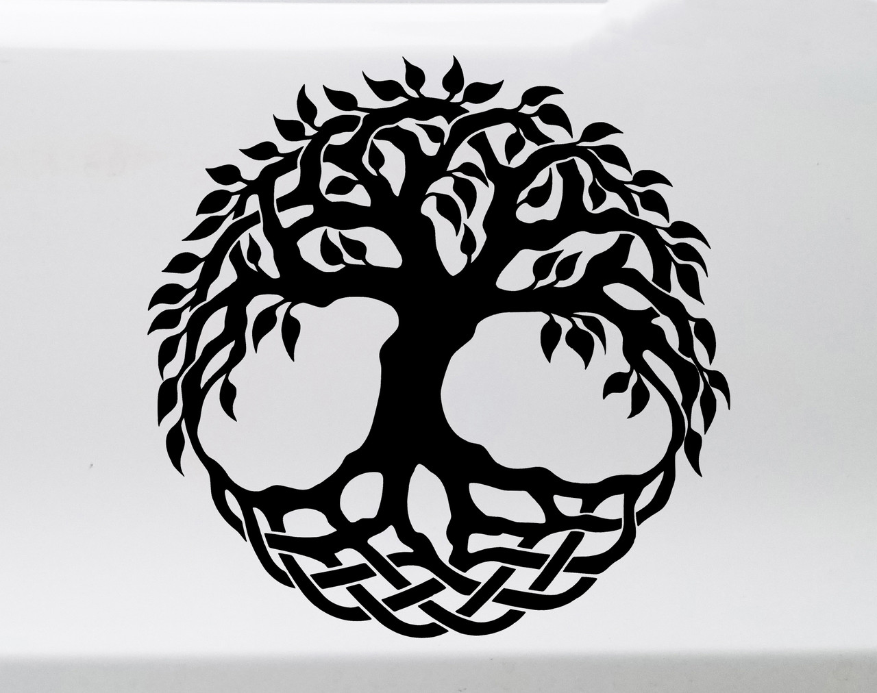 Tree of Life Yggdrasil Vinyl Decal - Norse Mythology - Die Cut Sticker