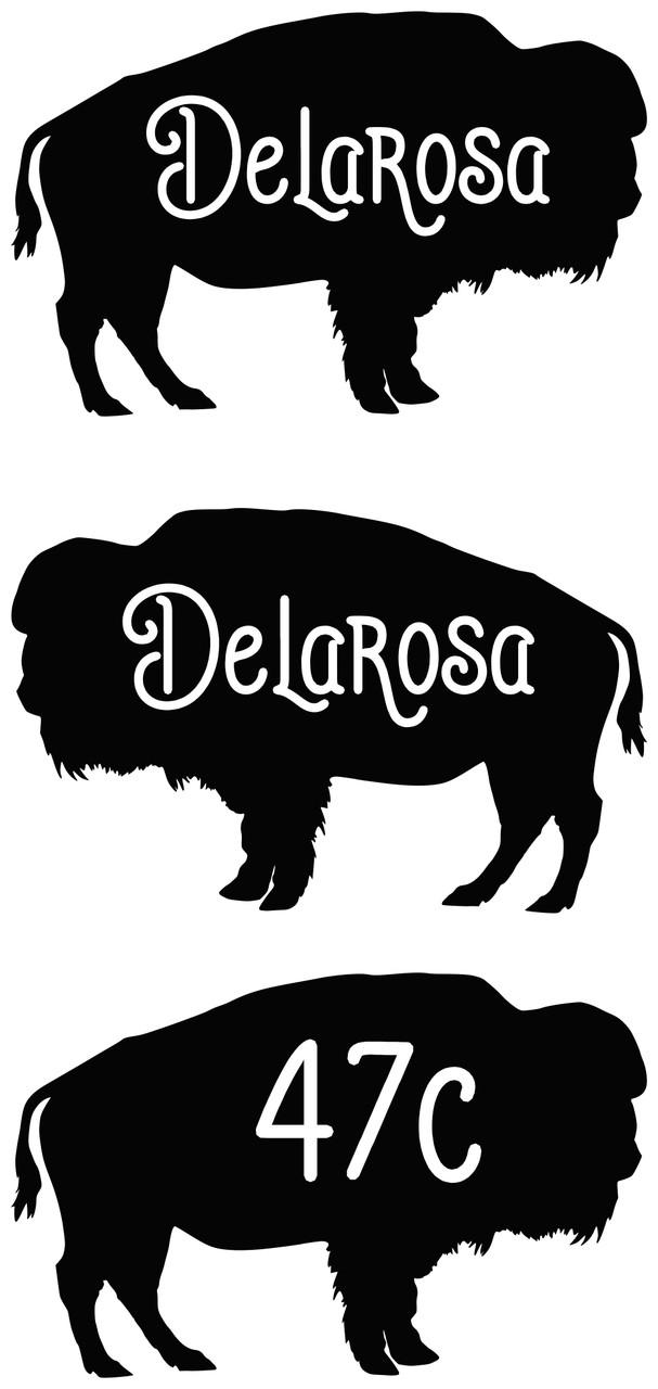 RESERVED for James File: Delarosa - BLACK