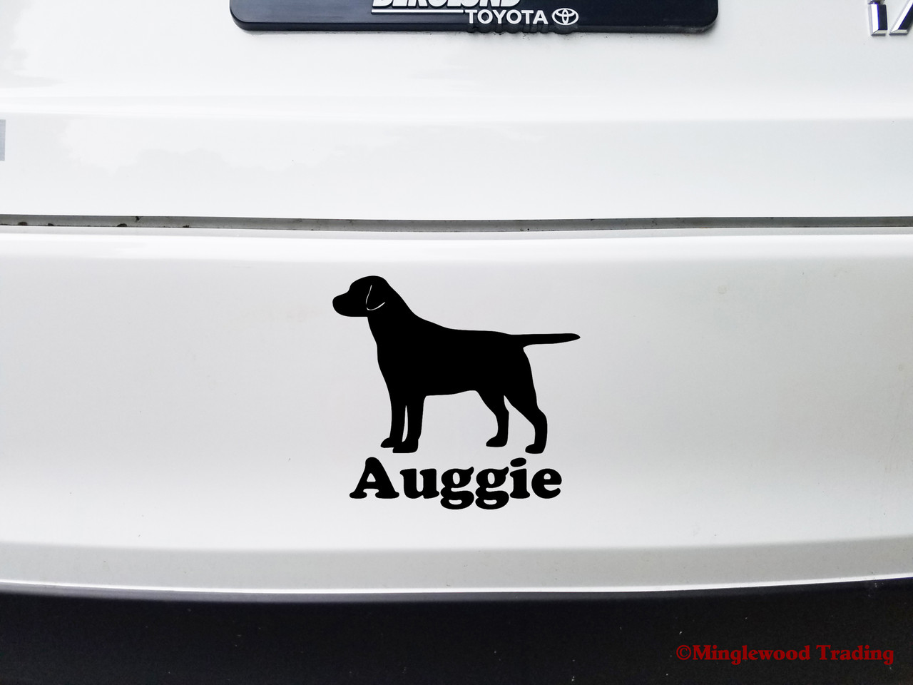 CUSTOM ADDRESS ROTTWEILER Dog Breed Lab MAILBOX Set Vinyl Decal Sticker C