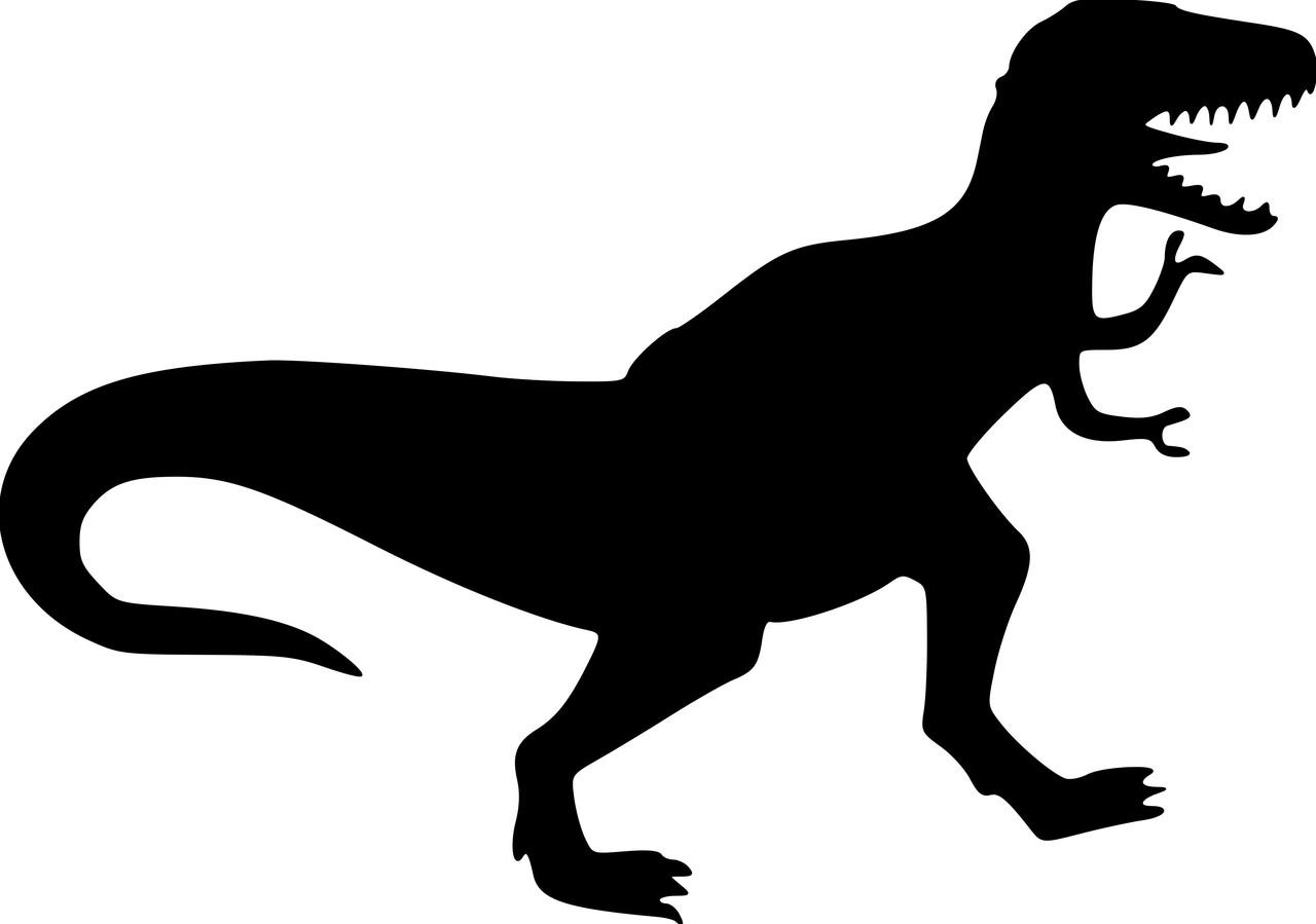 "T-REX Vinyl Decal Sticker  6"" x 4"" Tyrannosaurus Rex Dinosaur T.rex"
