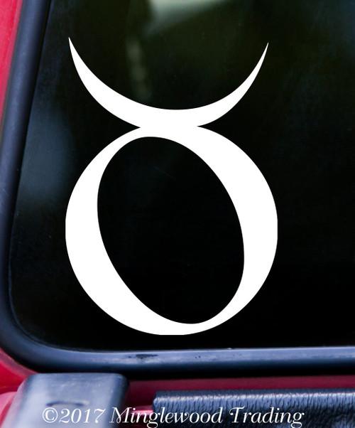 TAURUS Vinyl Sticker - Astrology Zodiac Sign Earth The Bull - Die Cut Decal