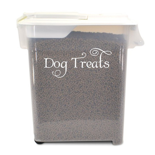 DOG TREATS Vinyl Sticker - Puppy Snacks Training SWASH