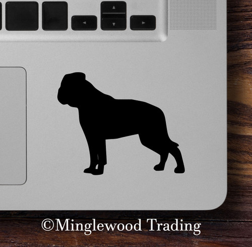 AMERICAN BULLDOG - Vinyl Sticker - Dog Puppy Canine - Die Cut Decal